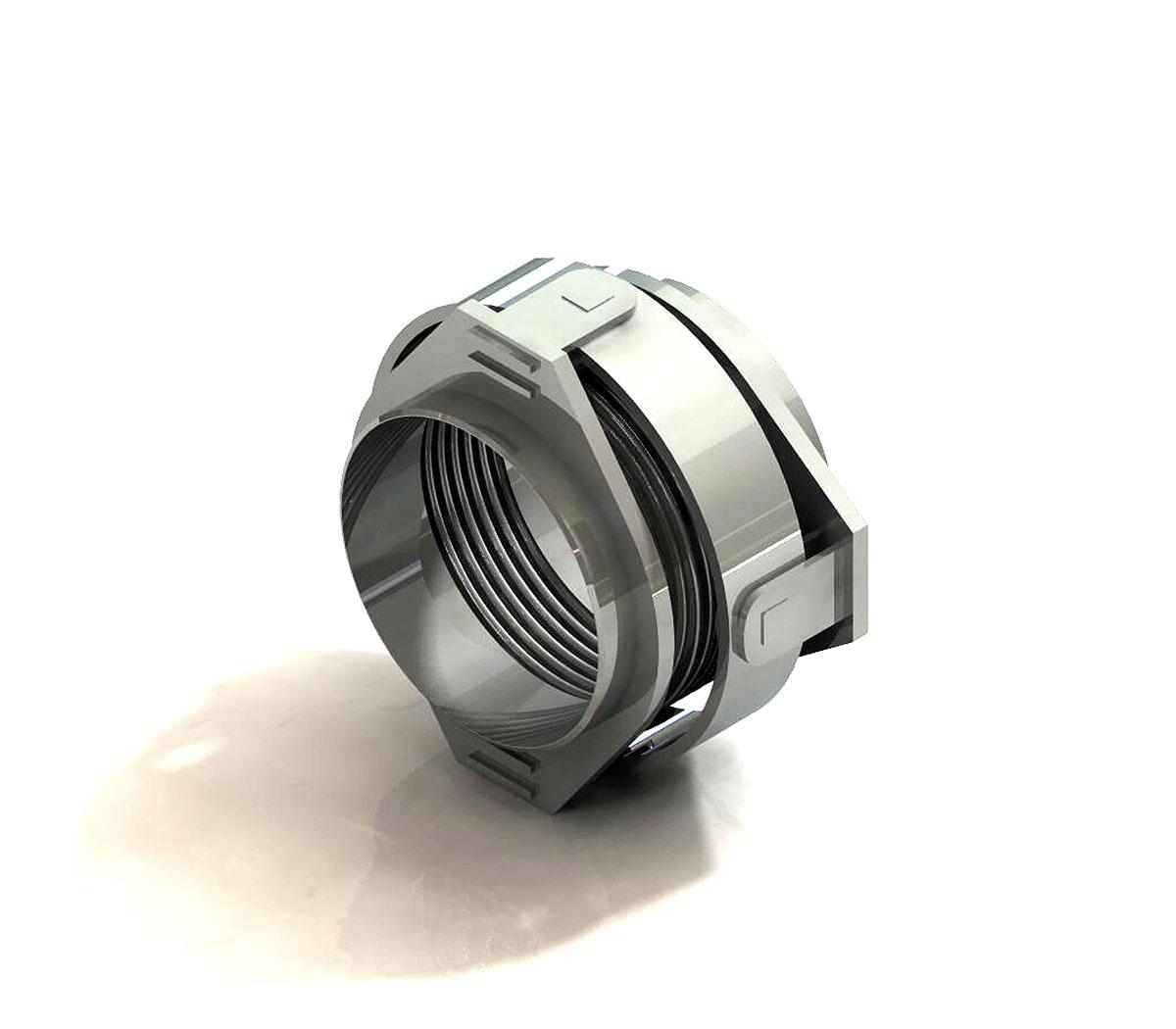 Compensador MWC articulado Rotula c/pontas de soldar